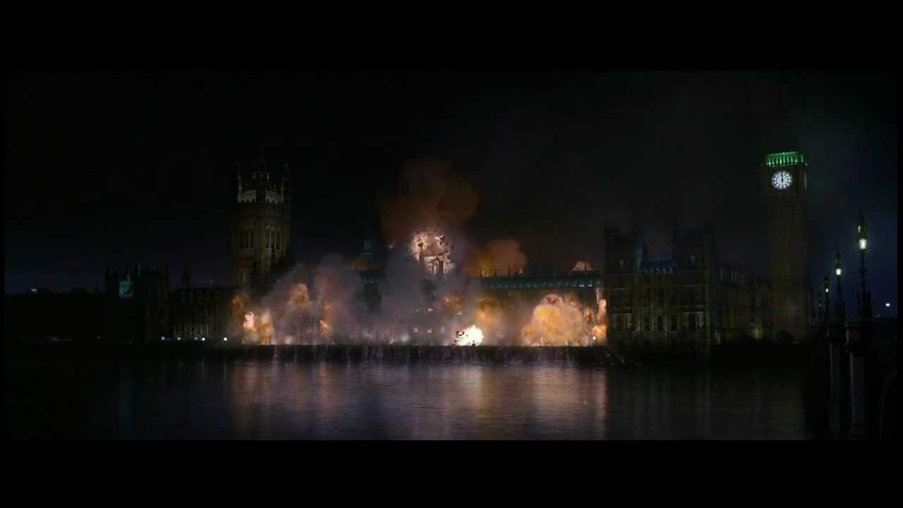 V For Vendetta Epic Ending  YouTube