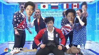 Nathan Chen's performance at 2019 ISU World Team Trophy in Figure Skating | NBC Sports