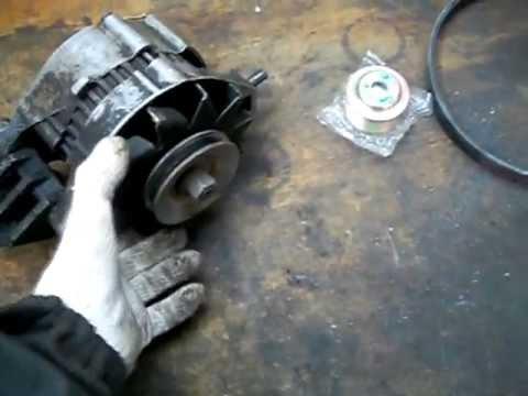 ремонт генераторе ваз 2106
