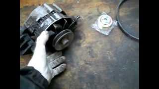 видео Настройка и ремонт генератора ВАЗ-2109. Генератор ВАЗ: его устройство и принцип действия
