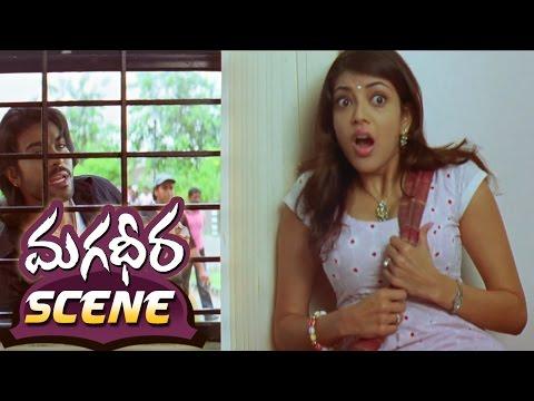Ram Charan Teasing Kajal Aggarwal About His Lover || Magadheera Movie || Geetha Arts