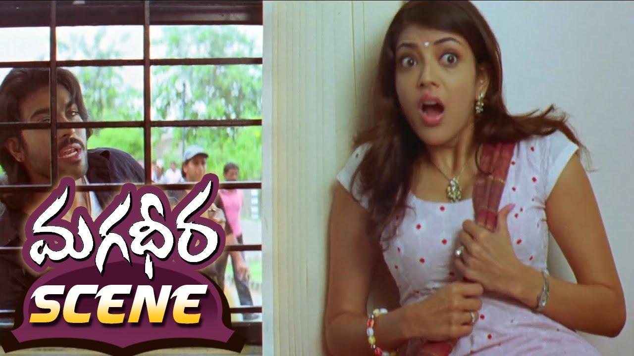 ram charan teasing kajal aggarwal about his lover || magadheera