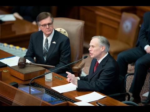 Texas Gov. Greg Abbott 2017 State Of The State Address