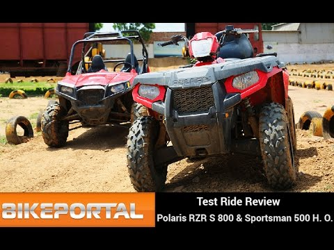 Polaris RZR S800 Test Ride Review - Bikeportal
