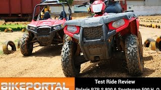 Polaris RZR S800 Test Ride Review - Bikeportal