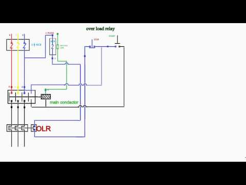 how to work over load relay