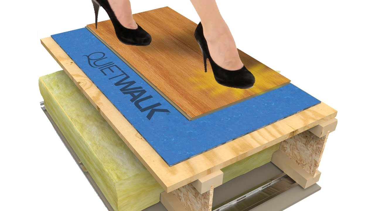 Quietwalk Flooring Underlayment Sound