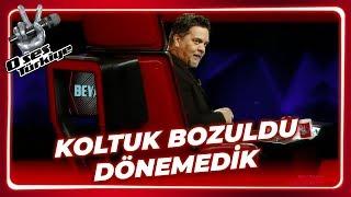 O Ses Türkiye'de Koltuk Sorunu | O Ses Türkiye 1. Bölüm