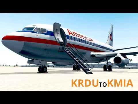 Prepar3D v4   Back to Basics KRDU to KMIA   Captain Sim 737-200
