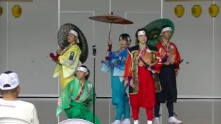 【二本松少年隊】2016.7.31市民交流センター夏祭り