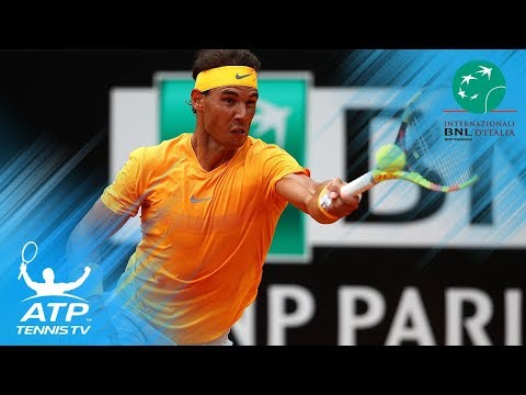 Nadal Powers Past Shapovalov; Djokovic and Zverev Reach Quarter-Finals | Rome 2018 Highlights Day 5
