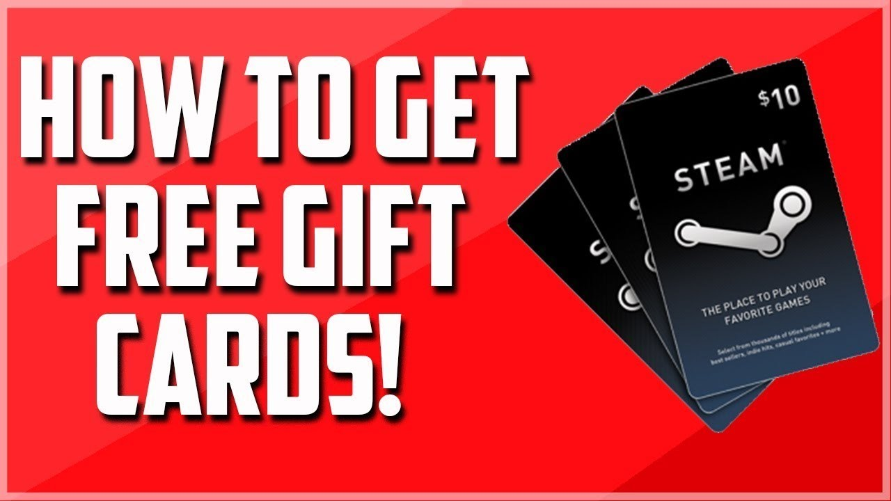 STEAM GIFT CARD GENERATOR - How to get a free steam gift card code