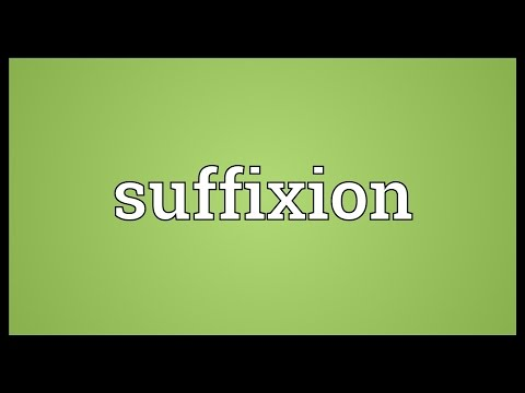 Header of suffixion
