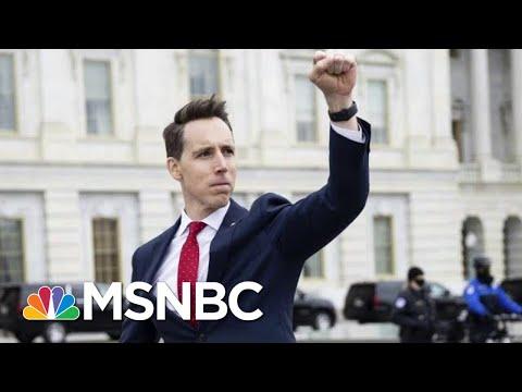 Claire McCaskill Condemns Sen. Josh Hawley's Objection To Electoral College Results | MSNBC