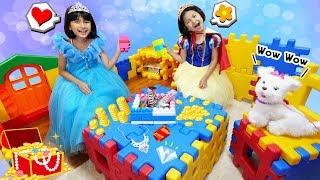 プリンセスの宝石が盗まれちゃう!?お姫様のレゴパーティ☆himawari-CH