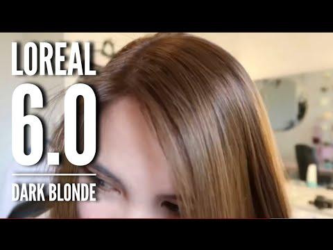 Coloring My Hair Again With LOREAL 6.0 Dark Blonde