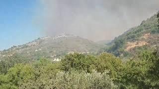 Εκκένωση του χωριού Κισσούσα 12.08.19