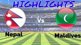Nepal Vs Maldives half First Game Live