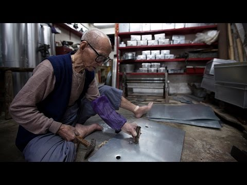 The trade of a lifetime: Hong Kong's 99-year-old tinsmith