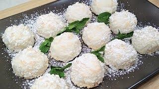 Любимый Десерт за 15 мин! Домашние кокосовые конфеты со вкусом Рафаэлло