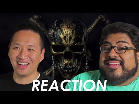 Pirates of the Caribbean: Dead Men Tell No Tales Teaser Trailer Reaction