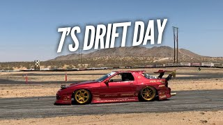 homepage tile video photo for I've NEVER seen this many RX-7s drifting at once! 7's Day with Hert