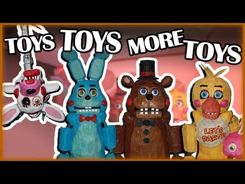 Puppet Show: Toys, toys and more toys!