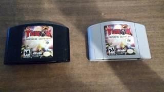 Turok Rage Wars - In-depth information about the gray NTSC cartridge
