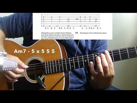 "HipHop/R&B Acoustic Guitar Lesson #8""Dear Mama"" -2PAC"