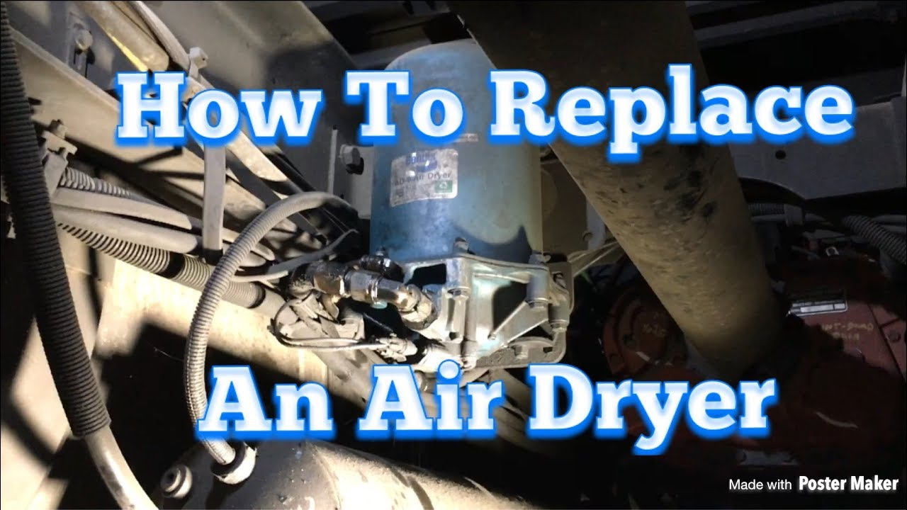 air dryer replacement diy easy repair youtube