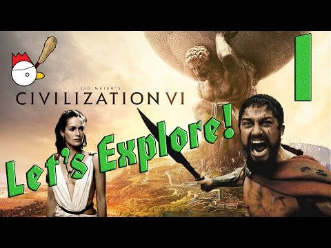 CIVILIZATION VI [ITA] Let's Explore 1# - QUESTA È SPARTAAAAA!