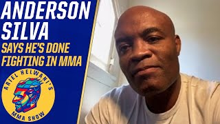 Anderson Silva says he's done fighting in MMA, talks boxing Chavez Jr. | Ariel Helwani's MMA Show