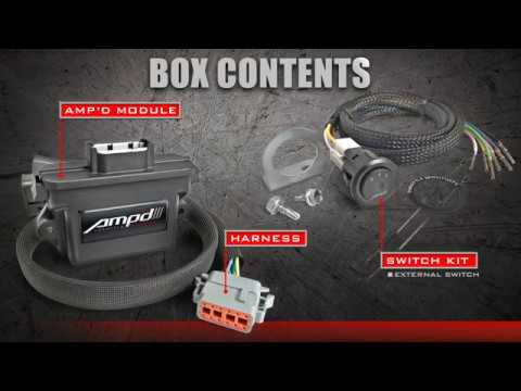 Amp'd Throttle Booster for Diesel and Gas Vehicles   Edge Products