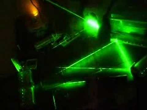 VERY COOL!!! Laser Prism - YouTube