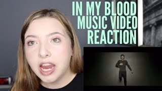 IN MY BLOOD MUSIC VIDEO- SHAWN MENDES- FAN REACTION