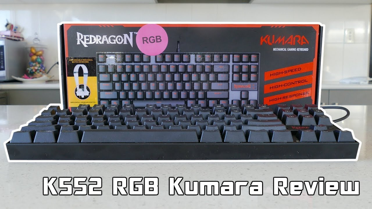 Redragon Kumara K552 Rgb Mechanical Keyboard Review Youtube