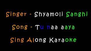 Tu Naa Aaya | Shyamoli Sanghi | Karaoke Version
