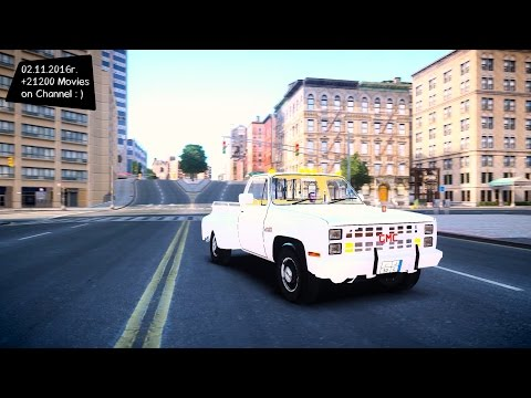 GMC 454 Pick Up - GTA V MOD ENB | 2.7K / 1440p ! _REVIEW