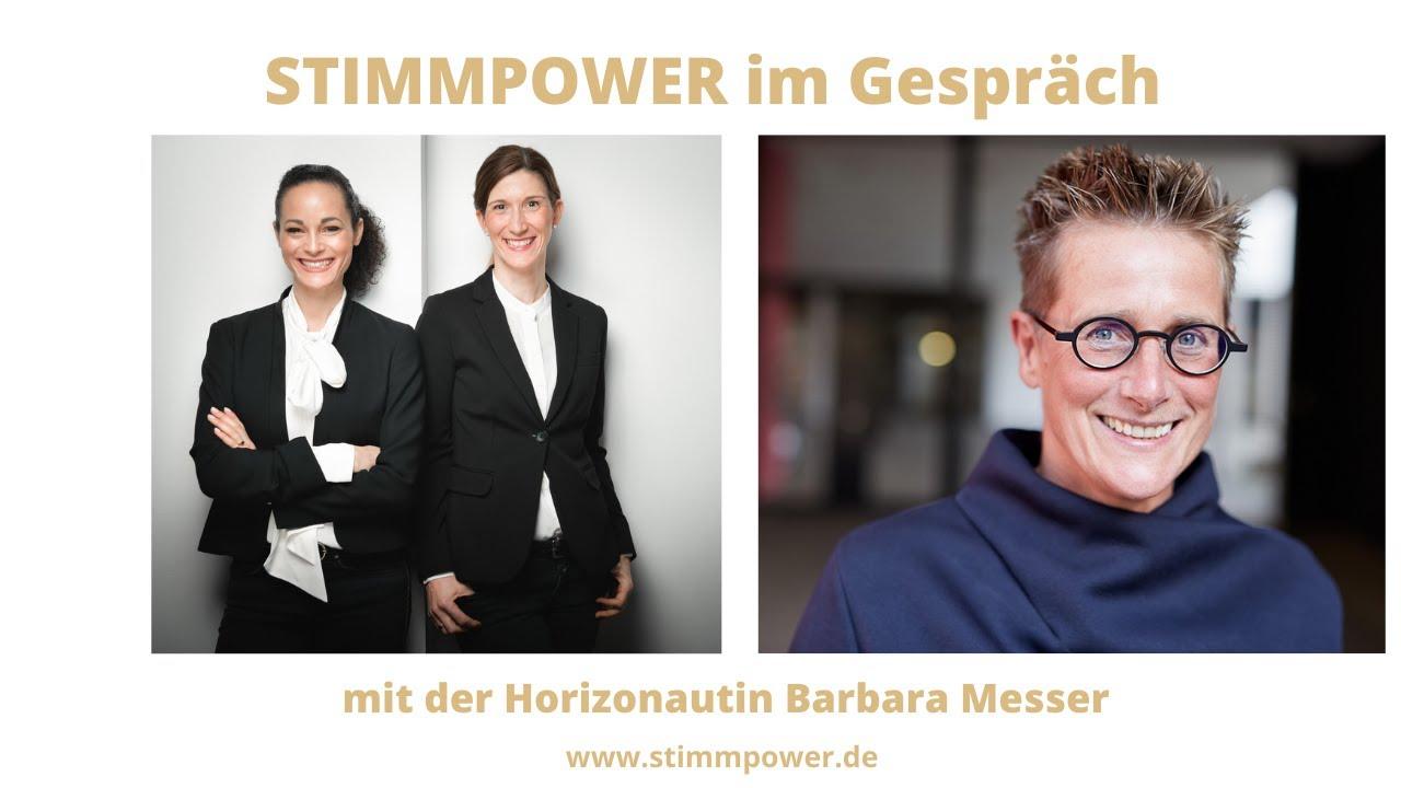 STIMMPOWER im Gespräch mit der für den RED FOX AWARD nominierten Barbara Messer