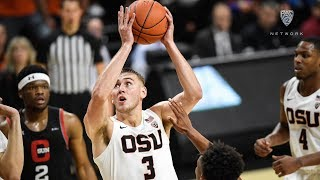Tres Tinkle notches double-double as Beavers defeat CSUN in season opener