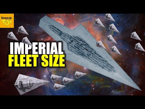 How BIG is the IMPERIAL FLEET?