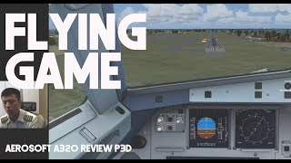 Aerosoft A320 Review P3D - By Captain Vincent Raditya - Prepar3D Flight Simulator Add On Flying Game