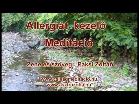 Allergiát kezelő Meditáció