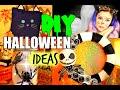 DIY Halloween Decor! Jack Skellington Wreath, Spider Glow Jar and More! Pinterest Inspired!