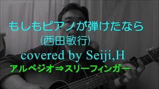 西田敏行さんの「もしもピアノが弾けたなら」を弾き語りしました。 使用...