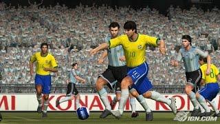 BRASIL X ARGENTINA PES 2008 PS3