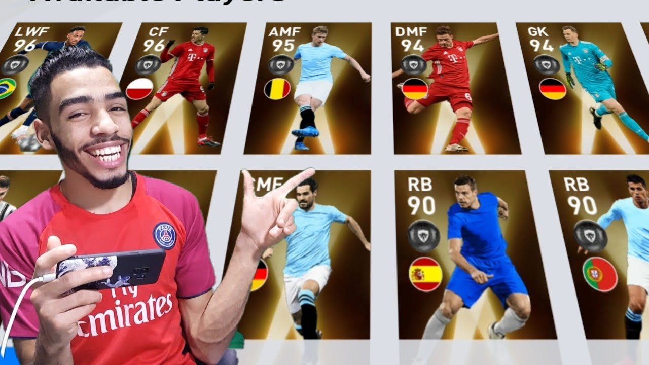 Fans choice : EUROPEAN CLUB CHAMPIONSHIP PACK OPENING🔥EFootball PES 2021 MOBILE