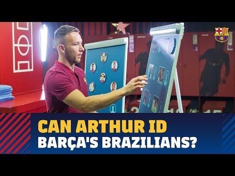 Arthur Quizzed On His Blaugrana Countrymen