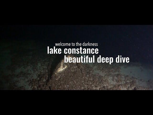 welcome to the darkness. deepest lake in germany