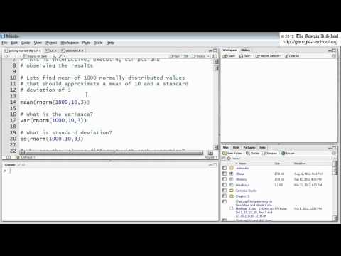 Introduction to R Programming Online Course: (Day 1 of 16; Part 1 of 8)